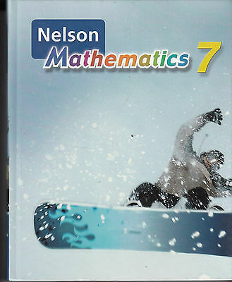 Nelson Mathematics 7 - HC Student Textbook - Very Good - Best Offer Available
