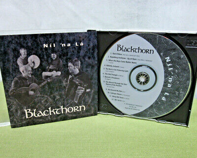 BLACKTHORN traditional Celtic music Nil Na La CD Michigan 1997 reels Irish