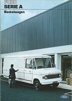 Truck Brochure - Ford - Serie A - Bestelwagen Van c1975 DUTCH language (T2195)