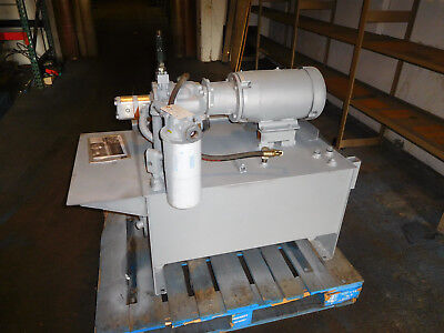 Rexroth A10VS045DR63RPKC62K01 Hydraulic Power Unit 10 HP 20GPM