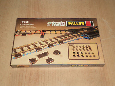 Faller E-Train Spur 0 No. 3896 Kabelklammern Cable fasterners 24 Stück pieces