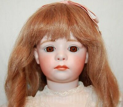"""Opal Butler French Reproduction Heubach Powty Doll Bisque 19"""" Composite Htf"""