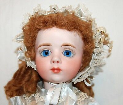 """Opal Butler French Reproduction A. Marque Doll Bisque 16"""" Jointed Composite Htf"""