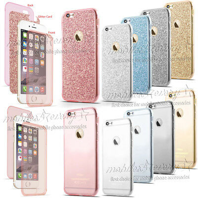 Luxury Ultrathin Shockproof Hybrid Silicone TPU 360 Case Cover for iPhone Phones