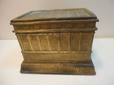 Vintage Waterbury National Bank CT promotional coin building Bank