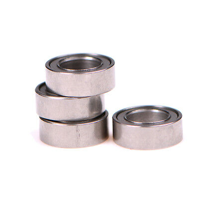 4pcs ball bearing MR74ZZ 4*7*2.5 4x7x2.5mm metal shield MR74Z ball bearing UK