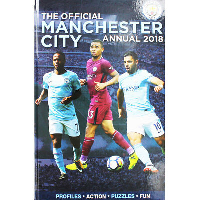 The Official Manchester City Annual 2018, Children's Books, Brand New