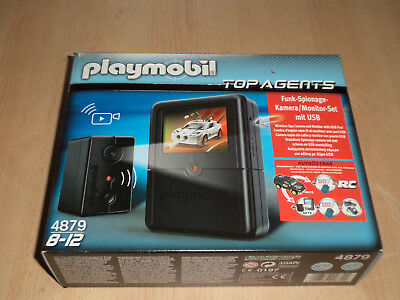 Playmobil No. 4879 Top Agents Funk Spionage-Kamera-Monitor Set mit USB