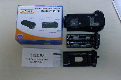 Zeikos Battery Pack D300/D700 for Nikon