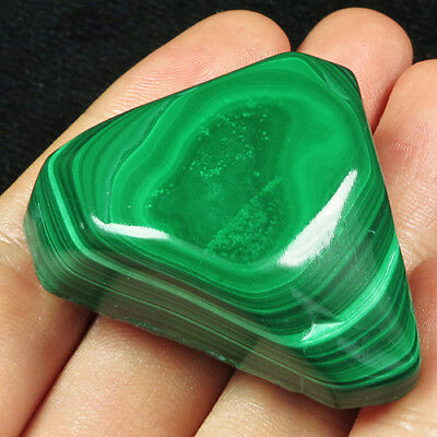 287.8CT 100% Natural Polished Bulls Eye Malachite  Facet Rough Specimen YMA607