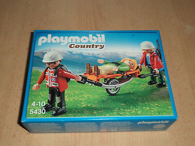 Playmobil No. 5430 Country Bergretter mit Trage Mountain Rescue Service