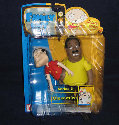 Family Guy Series 6 CLEVEMIRE Action Figure Mezco