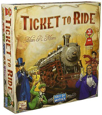 TICKET TO RIDE Days of Wonder Board Game NEW Sealed Railroad Train