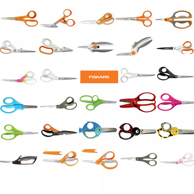 Fiskars Scissors Full Selection Embroidery, Shears, General Purpose