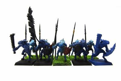 Warhammer Fantasy Sigmar Lizardmen Seraphon Saurus Warriors Regiment (w5234)