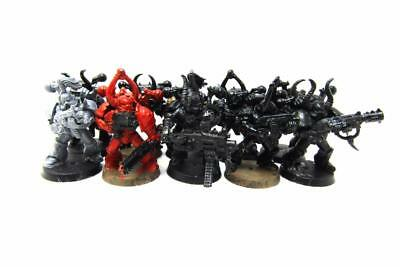 Warhammer 40k Chaos Space Marines Chaos Space Marine Infantry Squad (w5361)