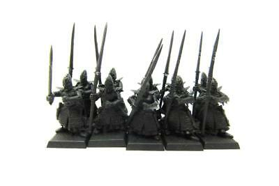 Warhammer Fantasy Age Of Sigmar Aelfs Dark Elves Dreadspears Regiment (w5420)