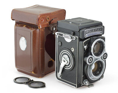 Rolleiflex 3.5F TLR Camera with Xenotar 3.5/75 mm