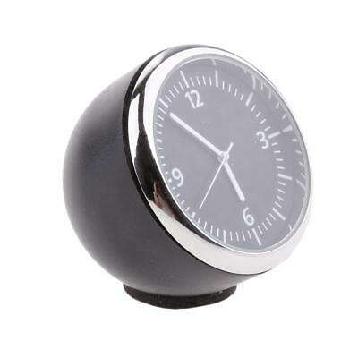Black Car Dash Mini Quartz Watch Clock Stainless Steel