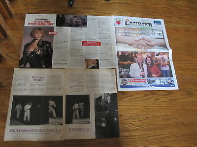 Priscilla Presley French Us Clippings