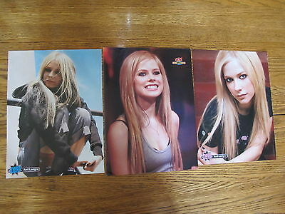Avril Lavigne 3 Mini Posters 8X11,deal!