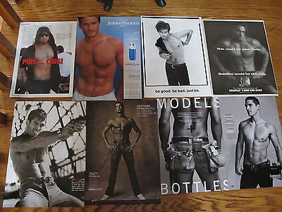 Great Lot Men Shirtless Clippings,cody Simpson.