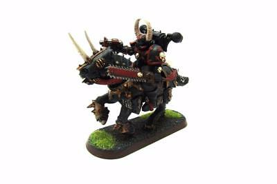 Warhammer 40k Chaos Space Marines Converted Count As Chaos Biker (w5557)