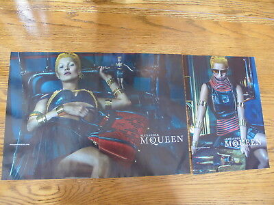 Alexander Mcqueen  Print Ads,clippings,kate Moss