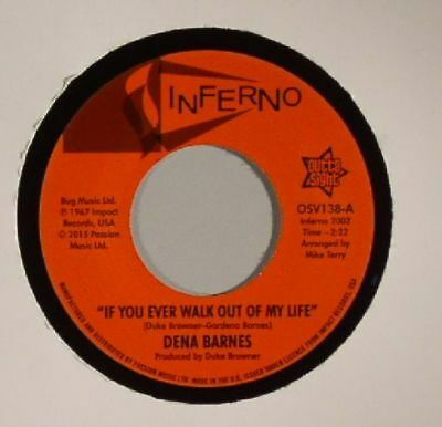 """BARNES, Dena - If You Ever Walk Out Of My Life - Vinyl (7"""")"""