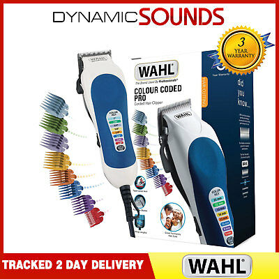 Wahl Colour Pro (79400-800) - Coded Mains Hair Clipper Kit Professional