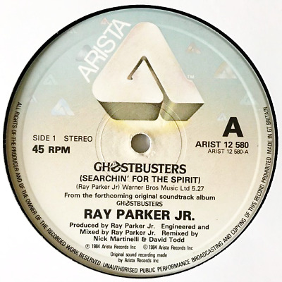 """RAY PARKER JR - Ghostbusters (12"""") (G++/NM)"""