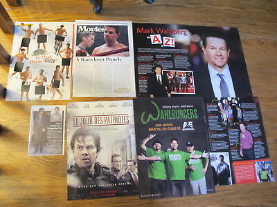 Mark Wahlberg French Us Clippings