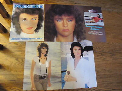 Jacqueline Bisset Vintage French Clippings