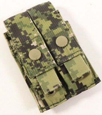 NEW Eagle Industries AOR2 Double (2x1) Flat M9 Pistol Mag Pouch - MOLLE - 5A2