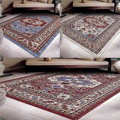 A2Z Rug Traditional Oriental Dining Rugs Geometric Bedroom Area Carpets Kitchen