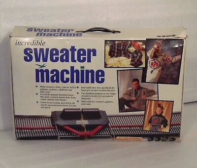 Bond 'Incredible Sweater Machine' With Box & DVD, Instructions & All Parts