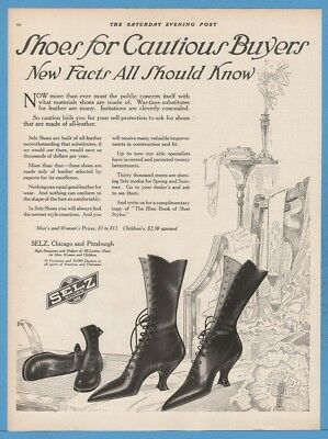 1918 SELZ Shoes Women's High Heel Boots For Cautious Buyers Fashion Style Ad
