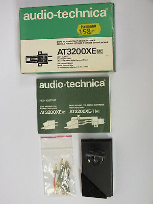 Audio technica AT3200 MC SME Schrauben Headshellkabel Zub. Lehre Cartridge