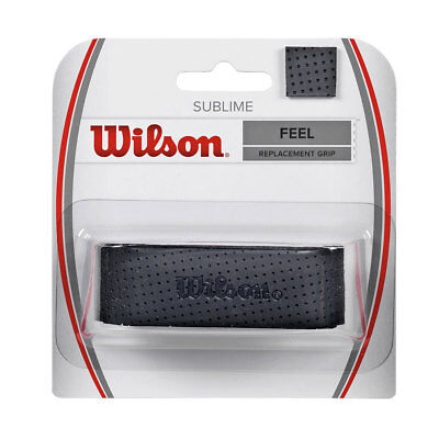Wilson Sublime Replacement Tennis Racket Grip - Black - One Size