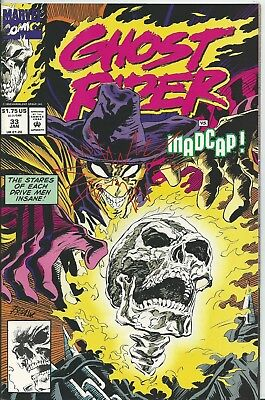 Ghost Rider #33 (2Nd Series)  (Marvel)  1990