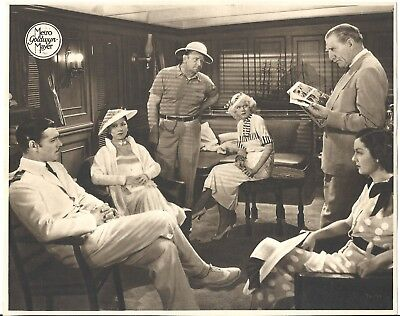 F27060 CHINA SEAS GABLE HARLOW RUSSELL BEERY rare MGM Lobby Card Spain