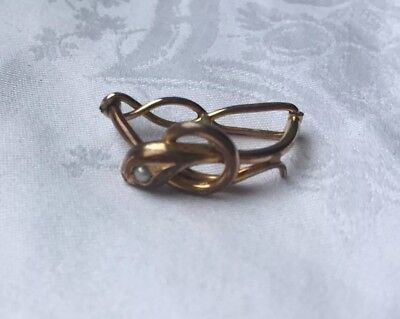Antique snake scarf ring in 18ct rolled gold