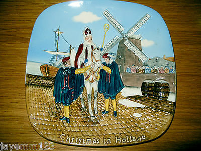 Beswick Christmas In Holland Ltd Edition Wall Plate Collectors International Vgc