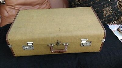 Vintage Travel Trunk Suitcase Storage Blanket Box Toys Coffee Table