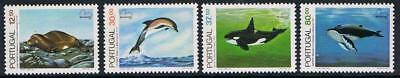 STAMPS  PORTUGAL 1983 MARINE MAMMALS Sg1928-32  (MNH) lot 730