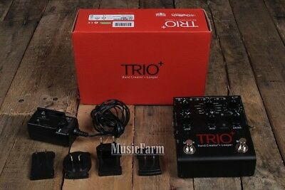 Digitech Trio Plus Band Creator and Looper Electric Guitar Effects Pedal w Box