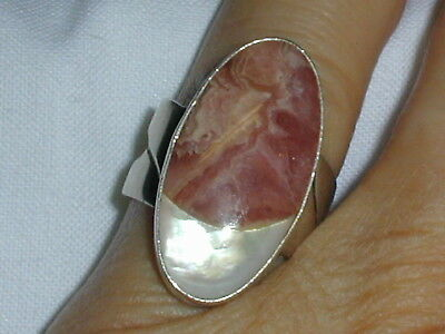 Stunning! Vintage Dtr- Jay King- Sterling Iridescent Ring- Size 6!