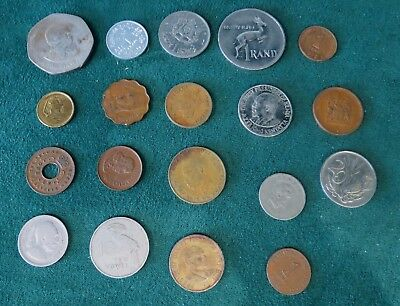 (19) lot of Africa Coins