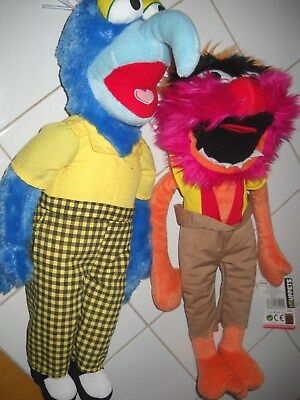 """Disney The Muppets Animal and Gonzo Plush Toys 18"""""""