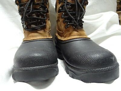 040f5a8c084 DONNER MOUNTAIN LEATHER/RUBBER Insulated Boots, Men's 11M